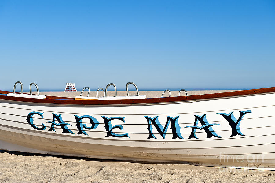 Beach Photograph - Cape May New Jersey by John Greim