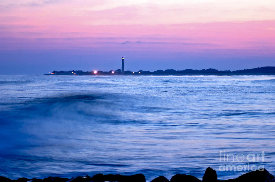 Sea Photograph - Cape May Seascape by Anthony Sacco