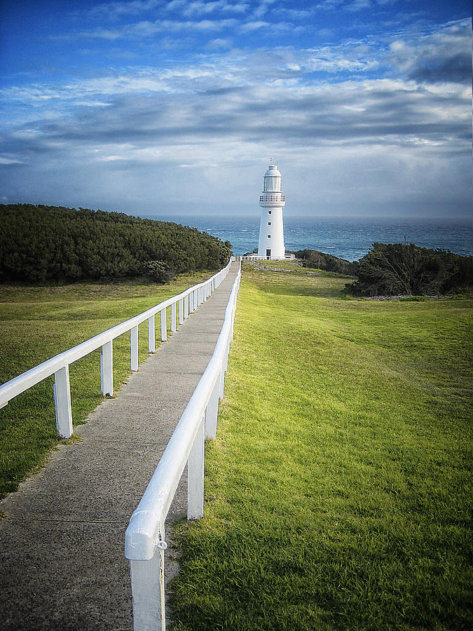 Lighthouses Photograph - Cape Otway by Kim Andelkovic