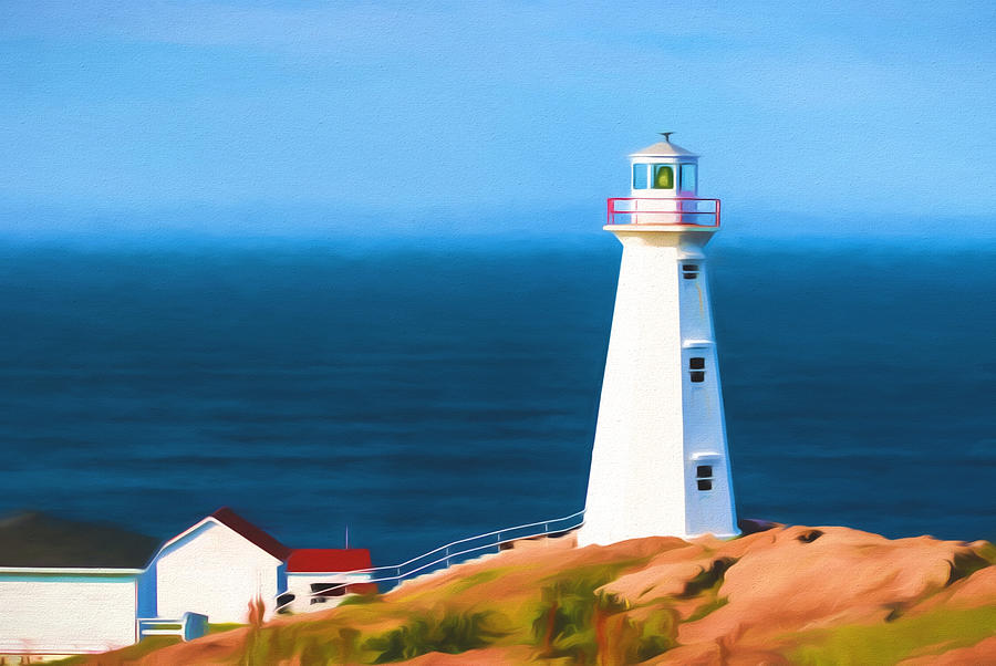 Canada Photograph - Cape Spear Lighthouse by Boss Photographic