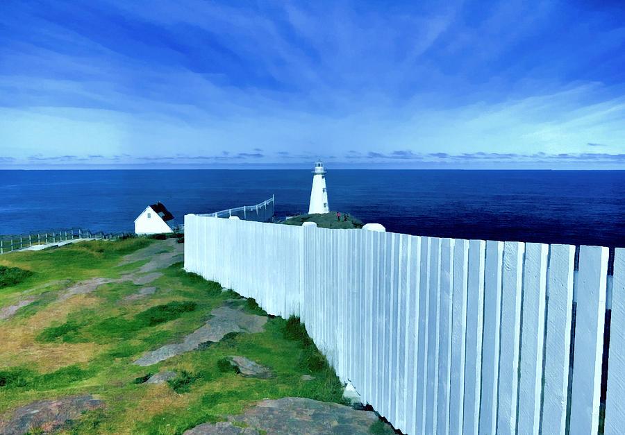 Cape Spear Lighthouse Newfoundland by Patricia Januszkiewicz