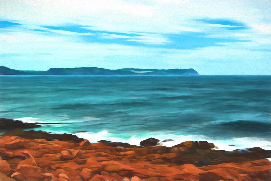 Atlantic Photograph - Cape Spear Shoreline by Boss Photographic