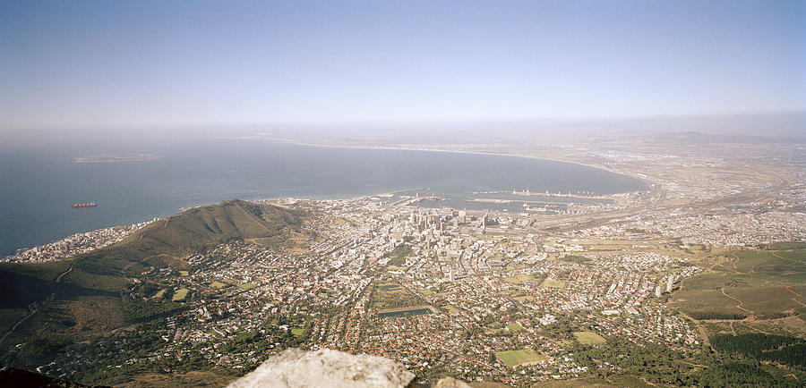 Cape Town Photograph - Cape Town Panoramic by Shaun Higson
