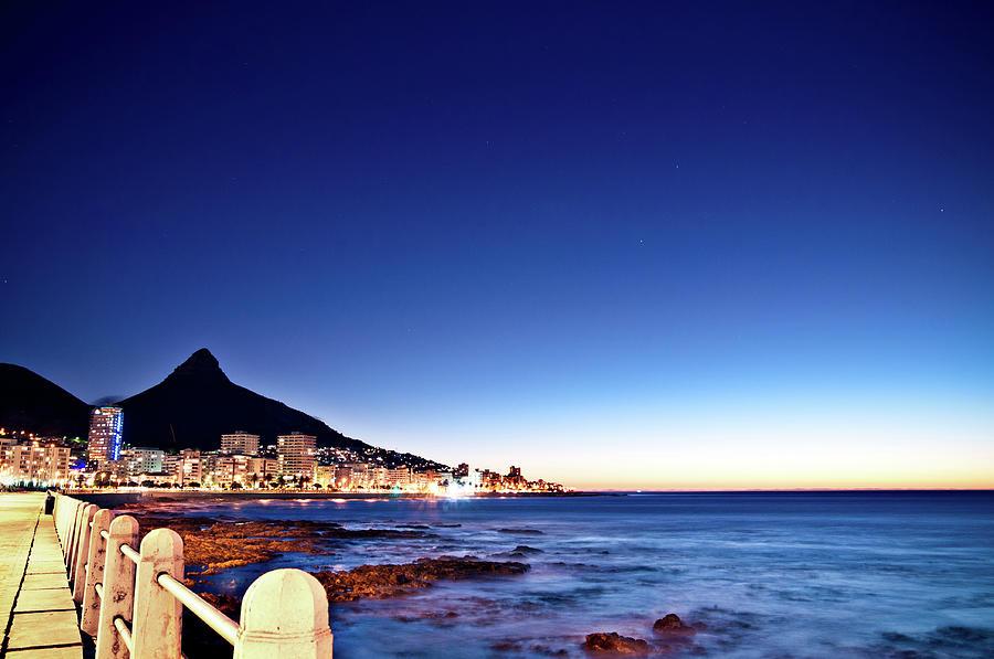 Cape Town Sea Point Photograph by Ferrantraite