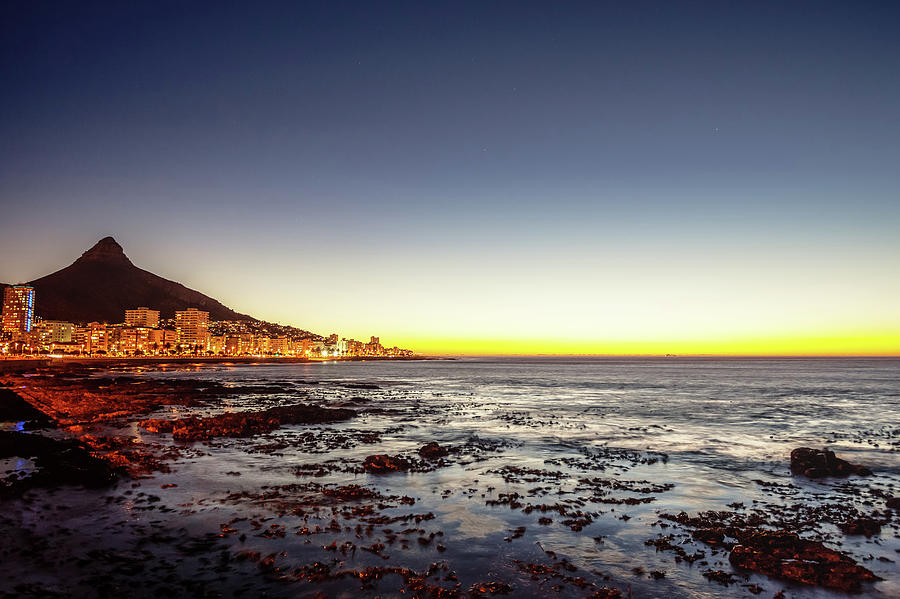 Cape Town Sea Point South Africa Photograph by Mlenny