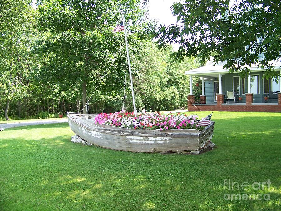 Clayton Photograph - Cape Vincent Flowerboat by Kevin Croitz