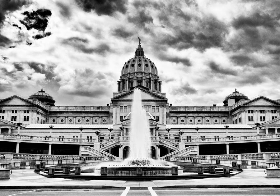Capital Photograph - Capital Backyard by Paul W Faust -  Impressions of Light