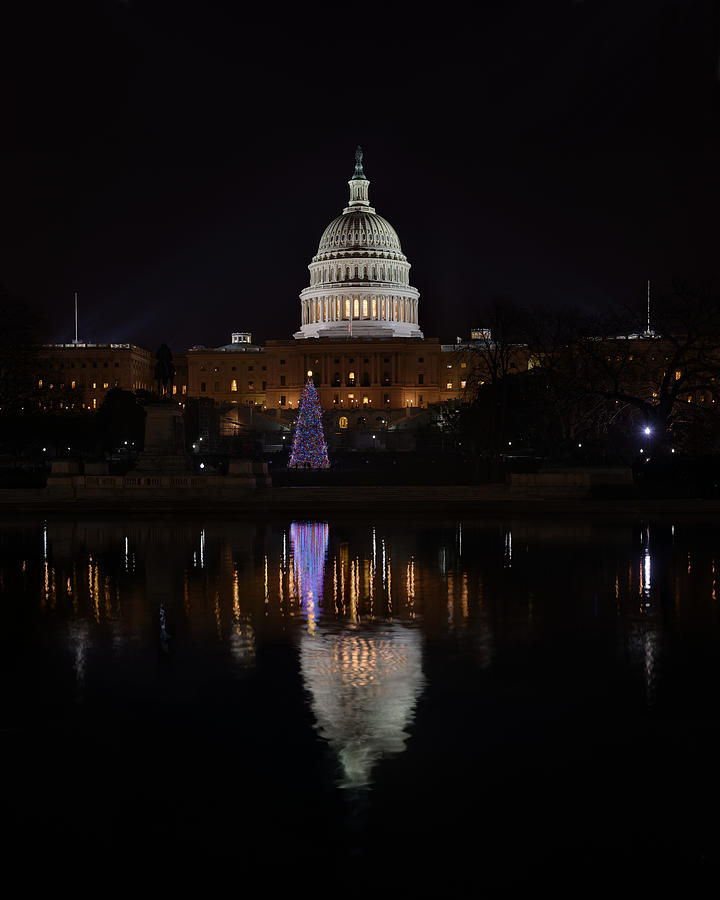 Metro Photograph - Capitol Christmas - 2012 by Metro DC Photography