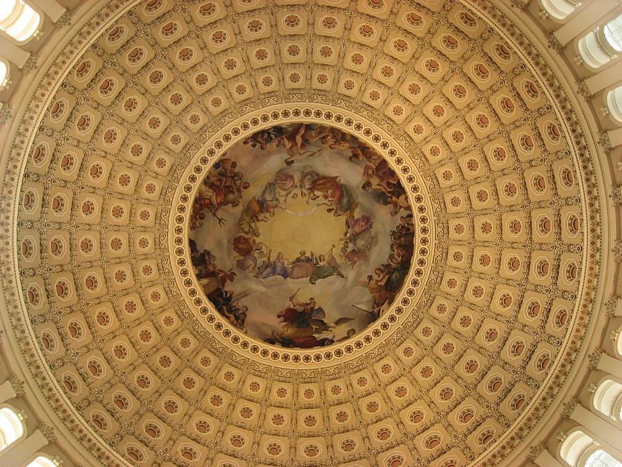 Capitol Photograph - Capitol Dome by Paul Thomas