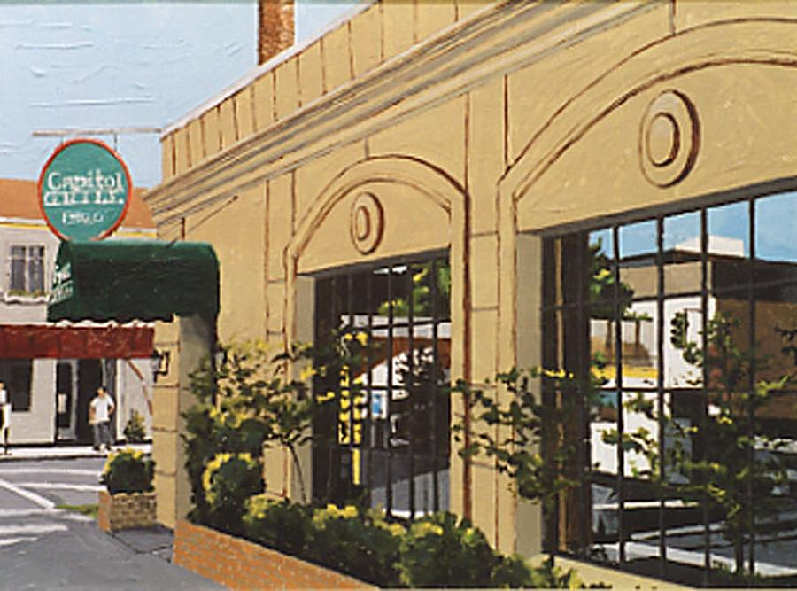 Sacramento Painting - Capitol Grille by Paul Guyer
