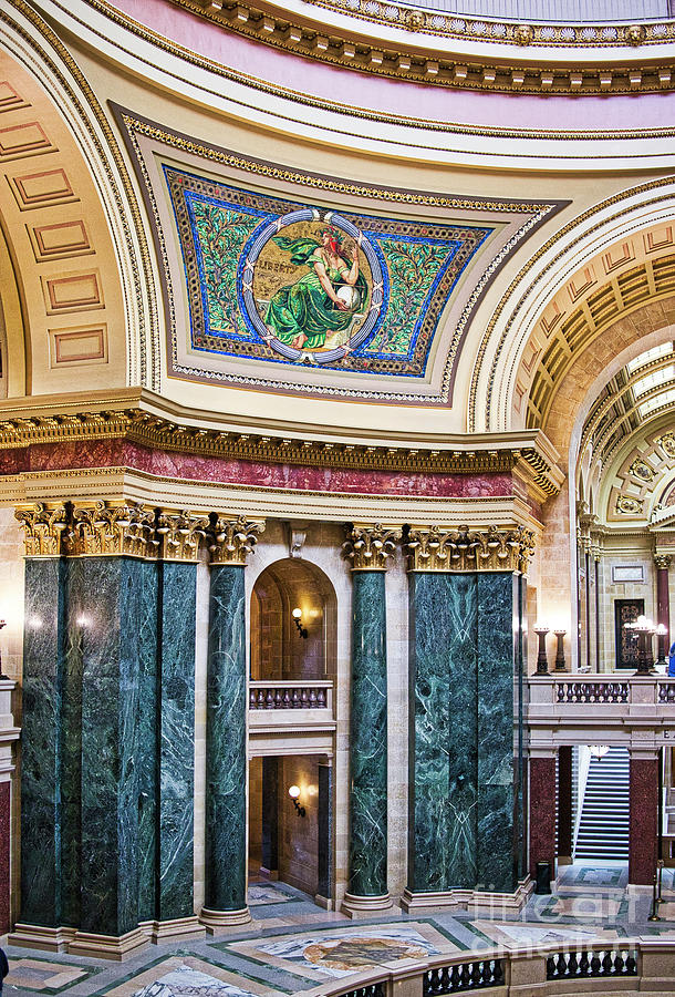 Capitol - Madison - Wisconsin Photograph by Steven Ralser