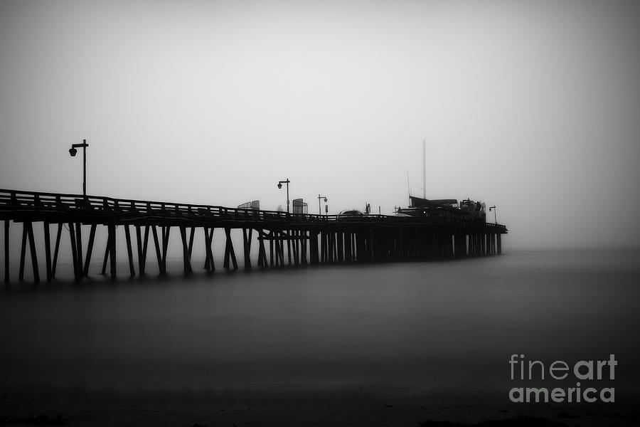 Pier Photograph - Capitola Wharf by Paul Topp