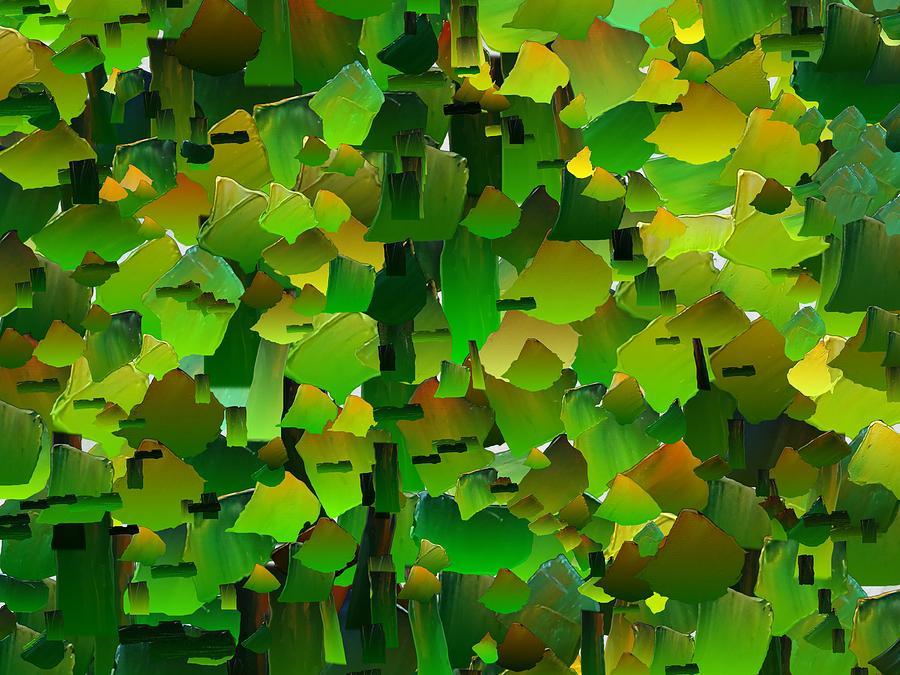 Digital Digital Art - Capixart Abstract 104 by Chris Axford