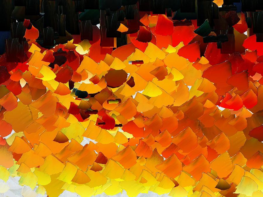 Digital Digital Art - Capixart Abstract 108 by Chris Axford