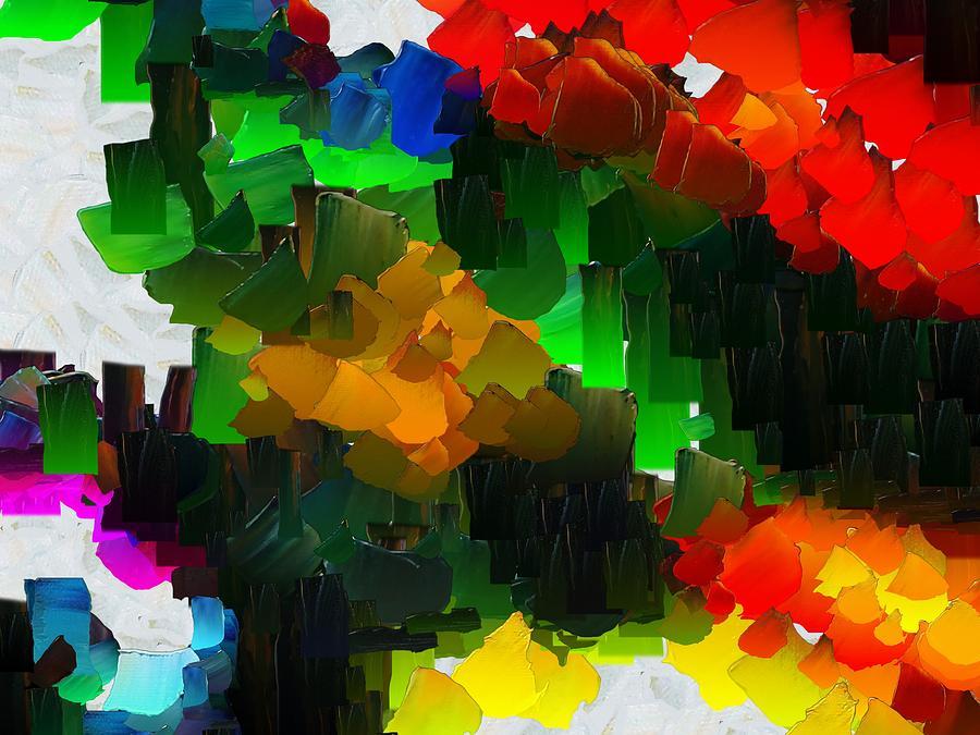 Digital Digital Art - Capixart Abstract 109 by Chris Axford
