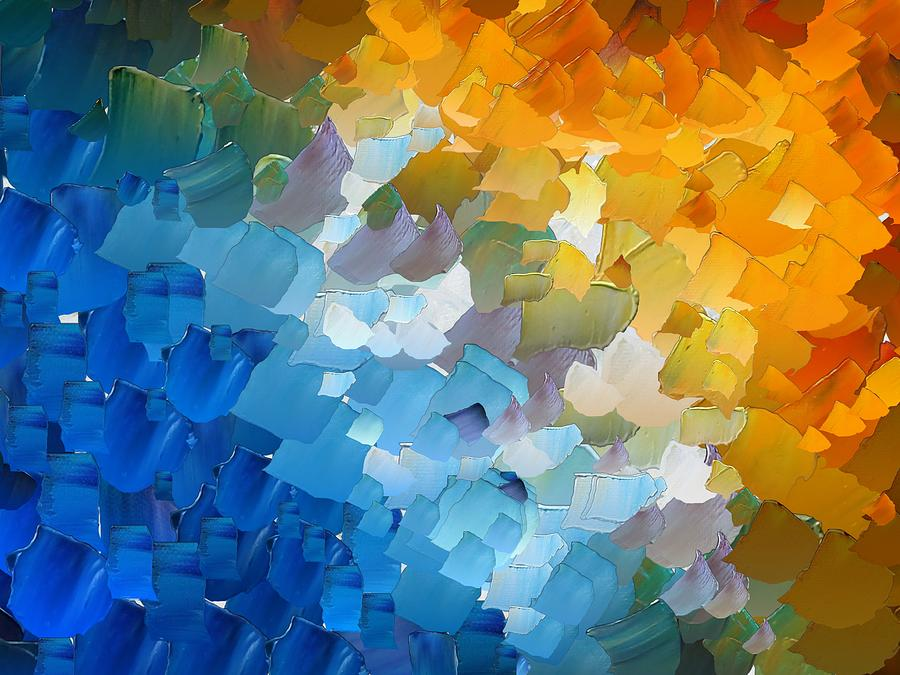 Digital Digital Art - Capixart Abstract 110 by Chris Axford