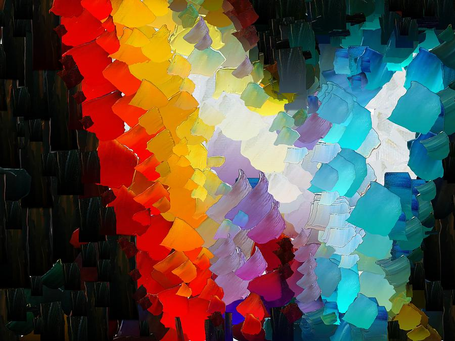 Digital Digital Art - Capixart Abstract 111 by Chris Axford