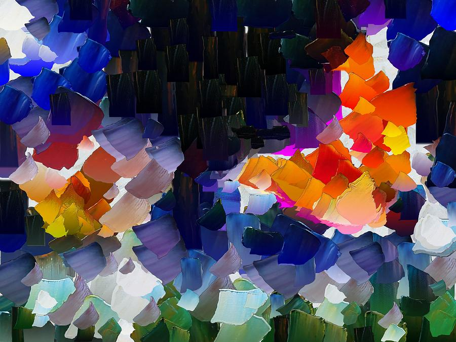 Digital Digital Art - Capixart Abstract 119 by Chris Axford