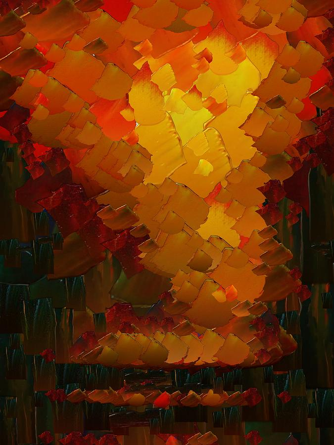 Digital Digital Art - Capixart Abstract 72 by Chris Axford