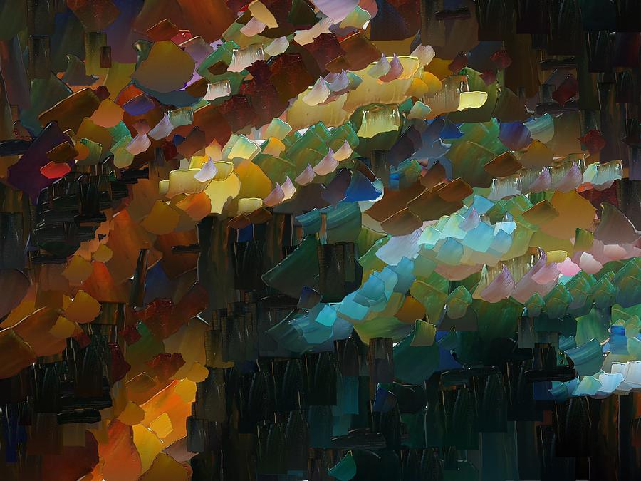 Digital Digital Art - Capixart Abstract 74 by Chris Axford