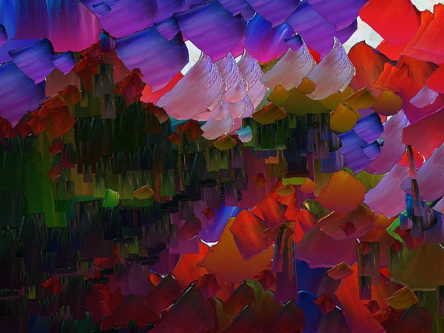 Digital Digital Art - Capixart Abstract 75 by Chris Axford