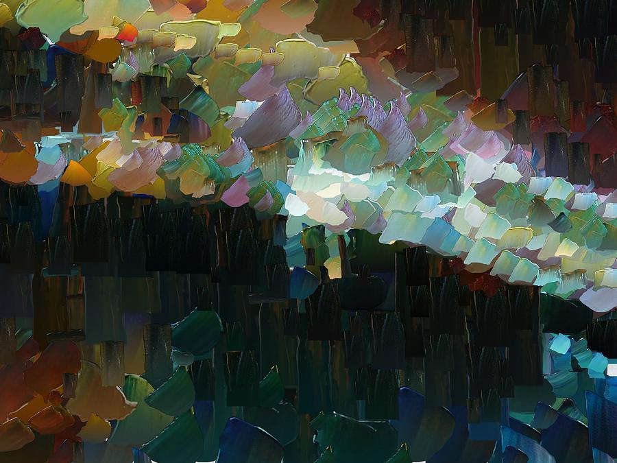 Digital Digital Art - Capixart Abstract 77 by Chris Axford