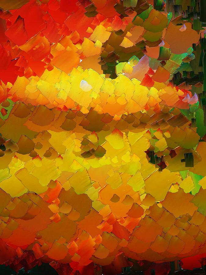 Digital Digital Art - Capixart Abstract 88 by Chris Axford