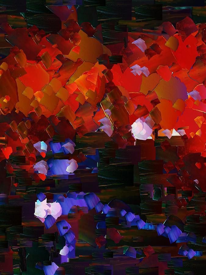 Digital Digital Art - Capixart Abstract 89 by Chris Axford