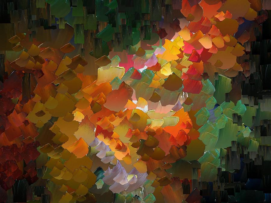 Digital Digital Art - Capixart Abstract 90 by Chris Axford