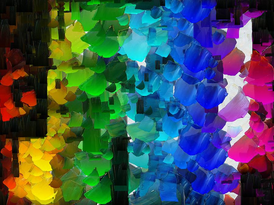 Digital Digital Art - Capixart Abstract 93 by Chris Axford