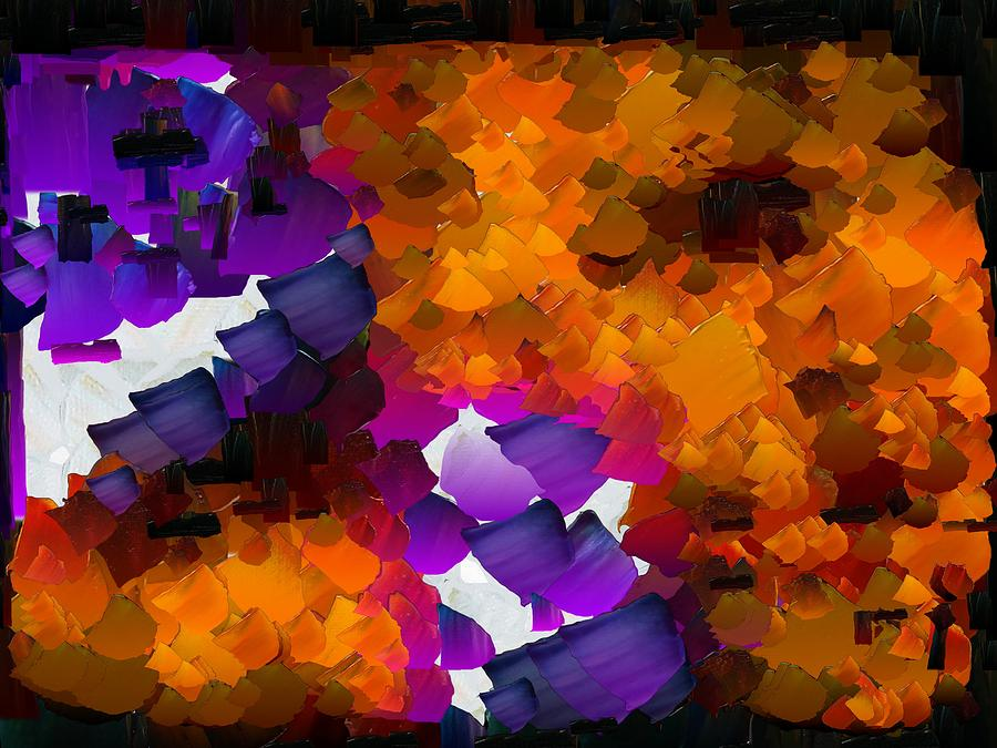 Digital Digital Art - Capixart Abstract 96 by Chris Axford