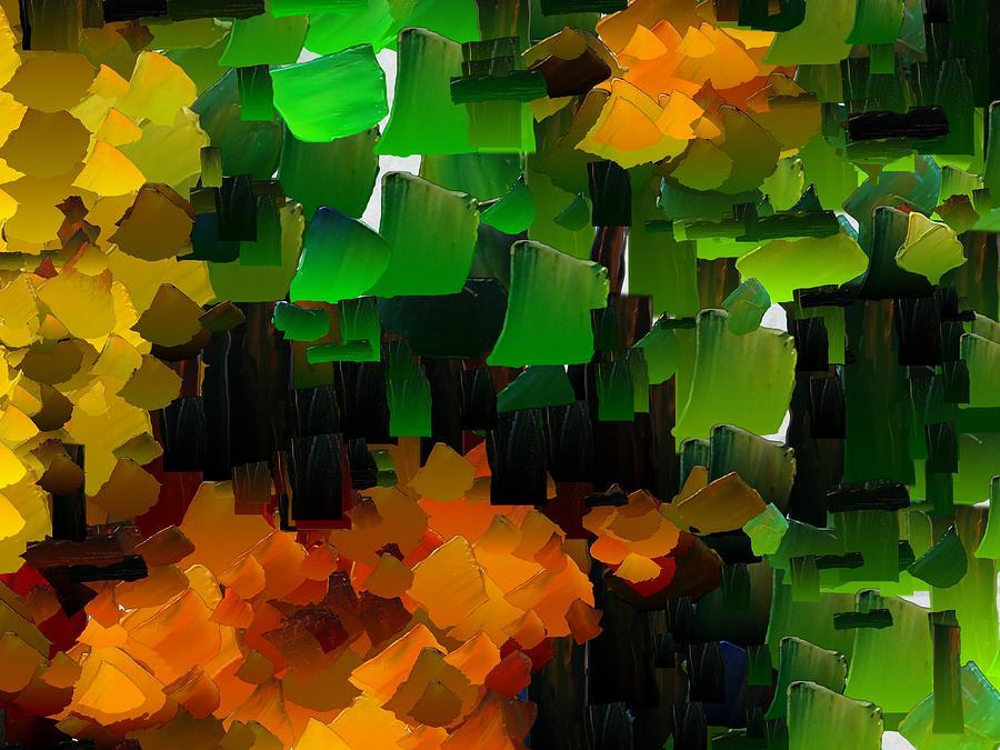 Digital Digital Art - Capixart Abstract 97 by Chris Axford