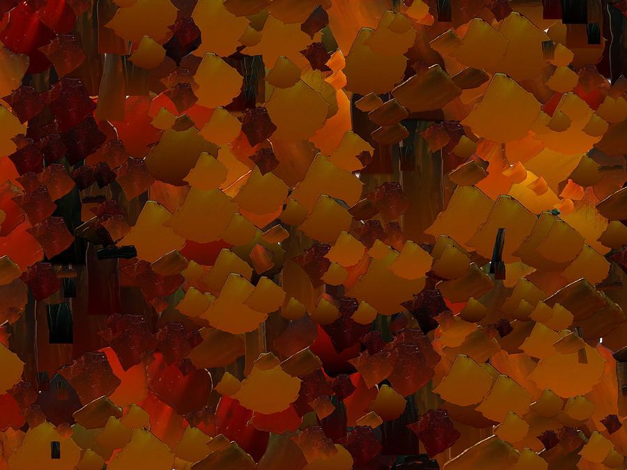 Digital Digital Art - Capixart Abstract 98 by Chris Axford