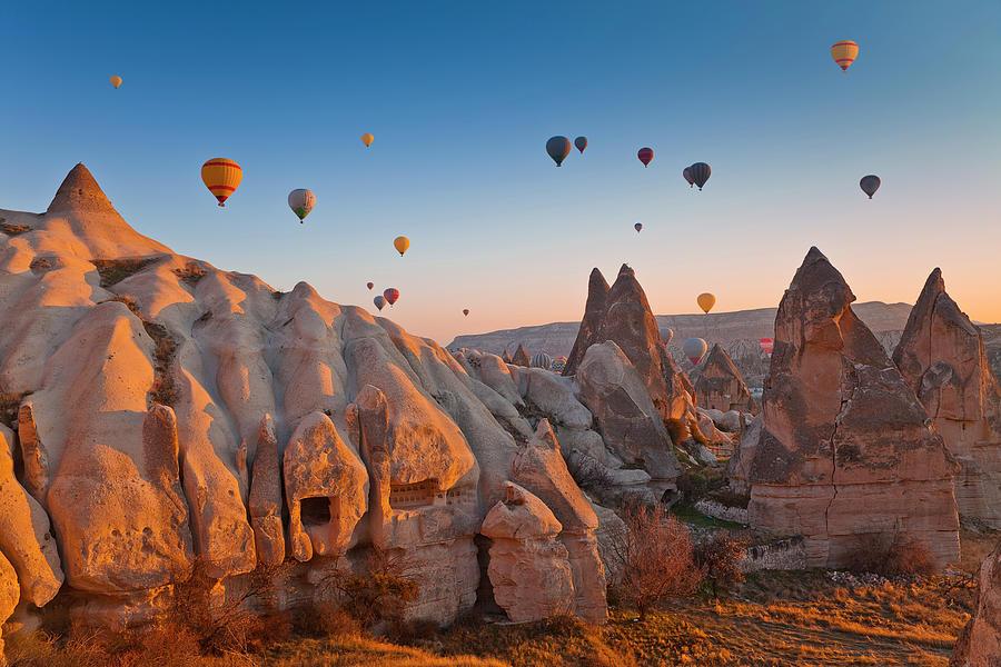 Cappadocia, Turkey Photograph by Benstevens