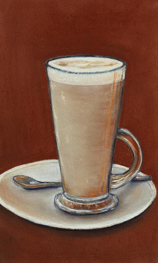 Cup Digital Art - Cappuccino by Anastasiya Malakhova