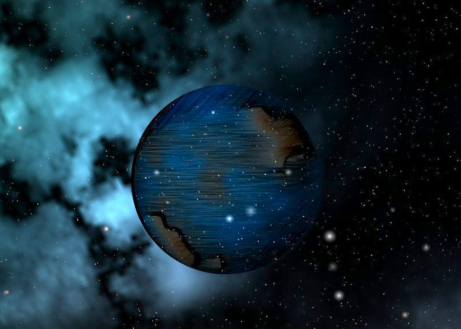 Planets Digital Art - Capricorn by Mario Carini