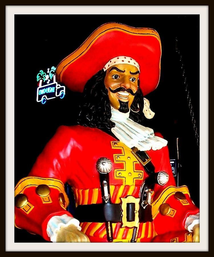 Captain Morgan Photograph - Captain by Bruce Kessler