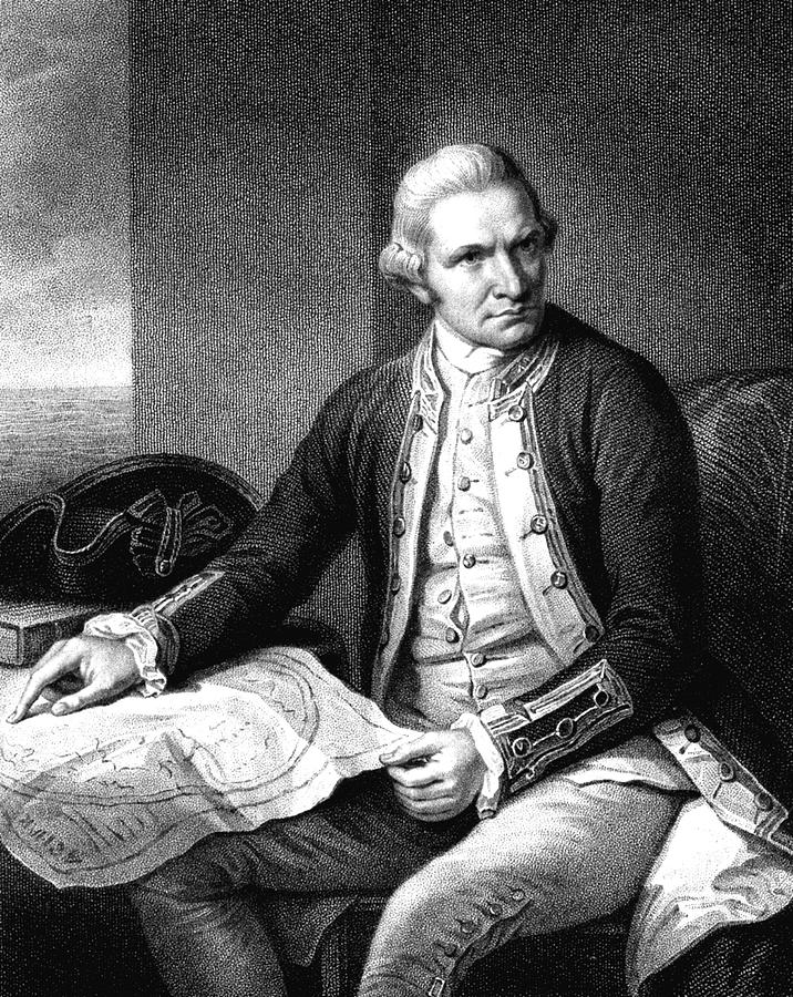 18th Century Photograph - Captain James Cook by Collection Abecasis