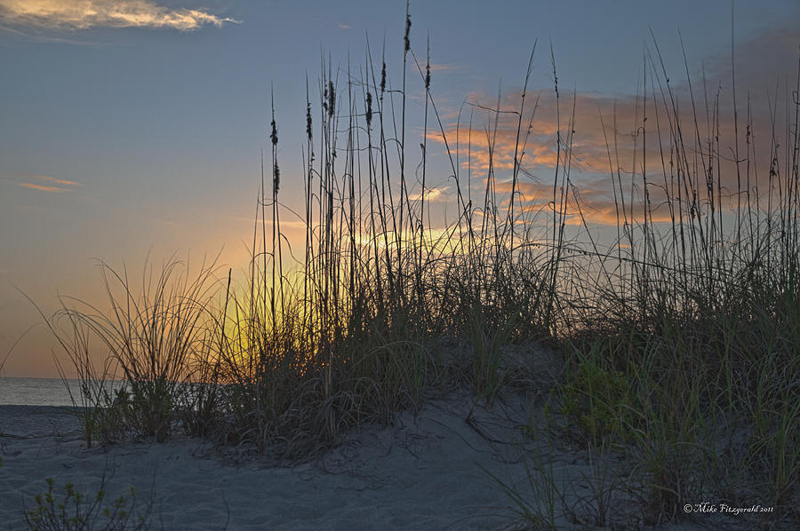 Florida Photograph - Captiva Sunset by Mike Fitzgerald