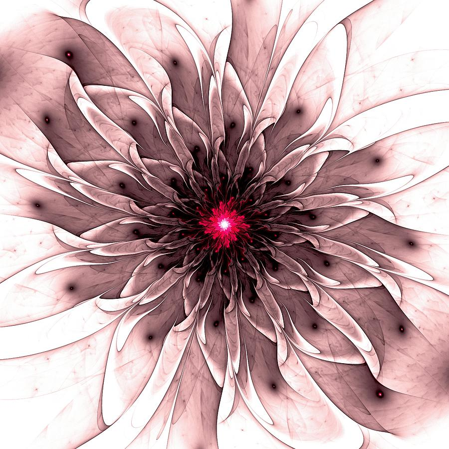 Plant Digital Art - Captivating by Anastasiya Malakhova