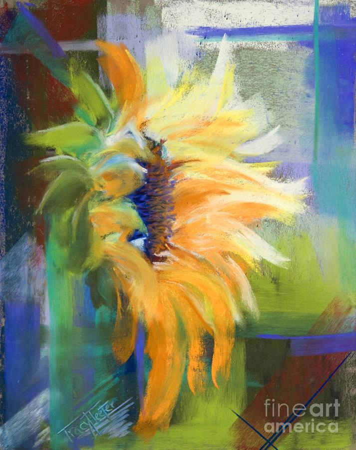 Kansas Pastel - Captured Sunlight by Tracy L Teeter