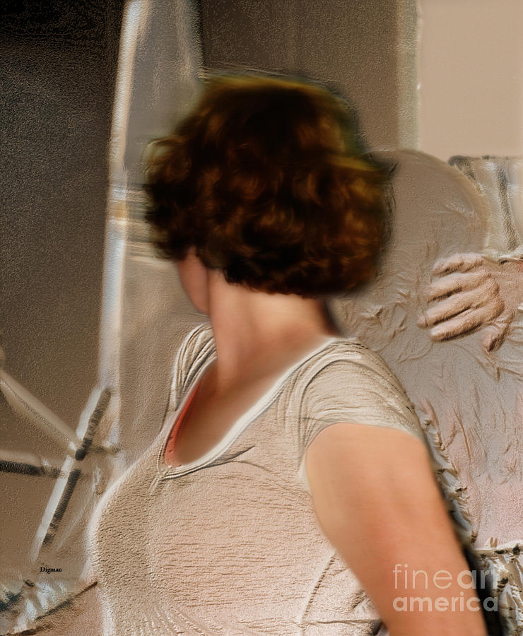 Woman Photograph - Capturing The Past Tense  by Steven Digman