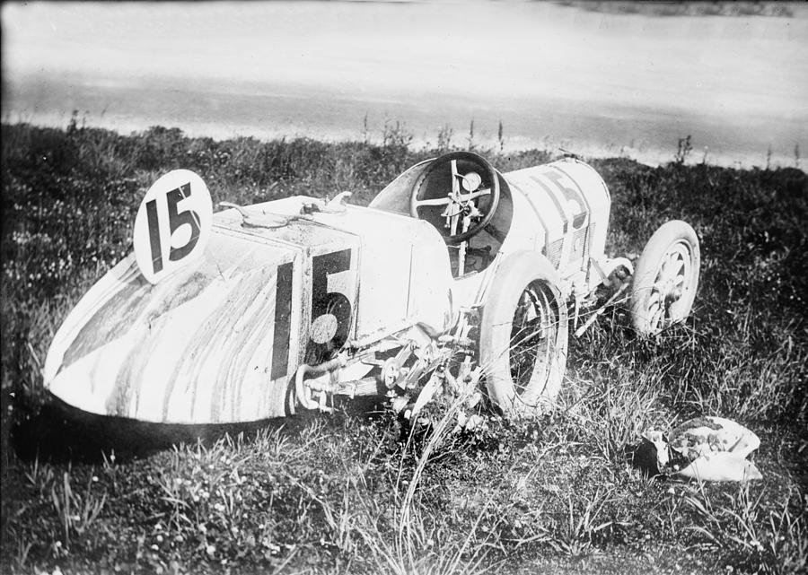 Car Accident, Bob Burmans Car by Everett