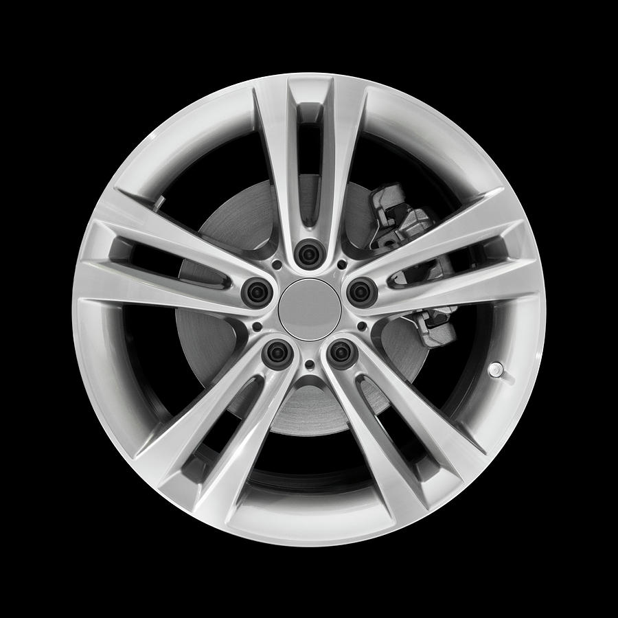 Car Alloy Wheel Photograph by Kenneth-cheung