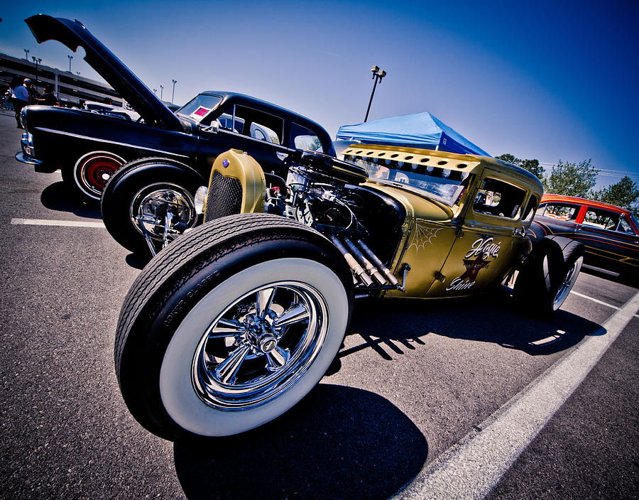 Rat Rod Photograph - Car Candy by Merrick Imagery