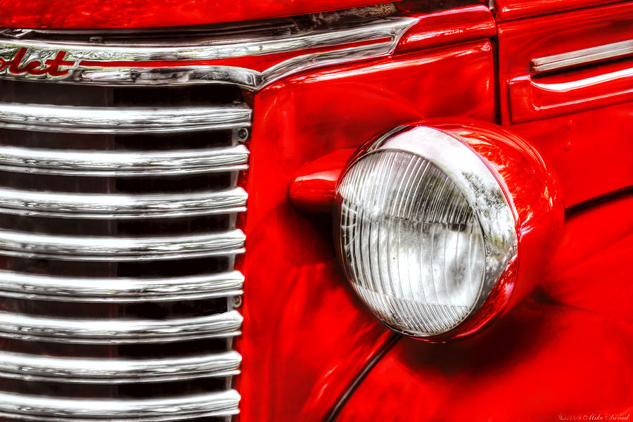 Savad Photograph - Car - Chevrolet by Mike Savad