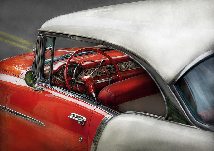 Car Photograph - Car - Classic 50s  by Mike Savad