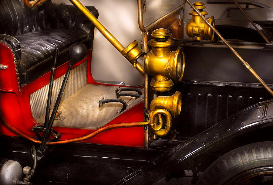 Savad Photograph - Car - Model T Ford  by Mike Savad