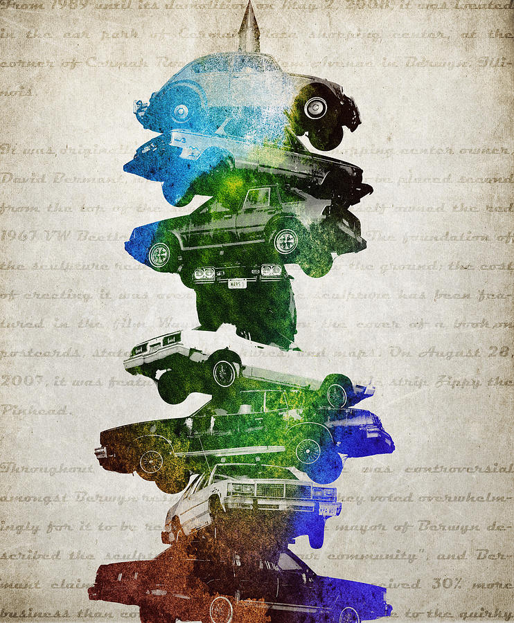 Car Spindle Digital Art - Car Spindle by Aged Pixel
