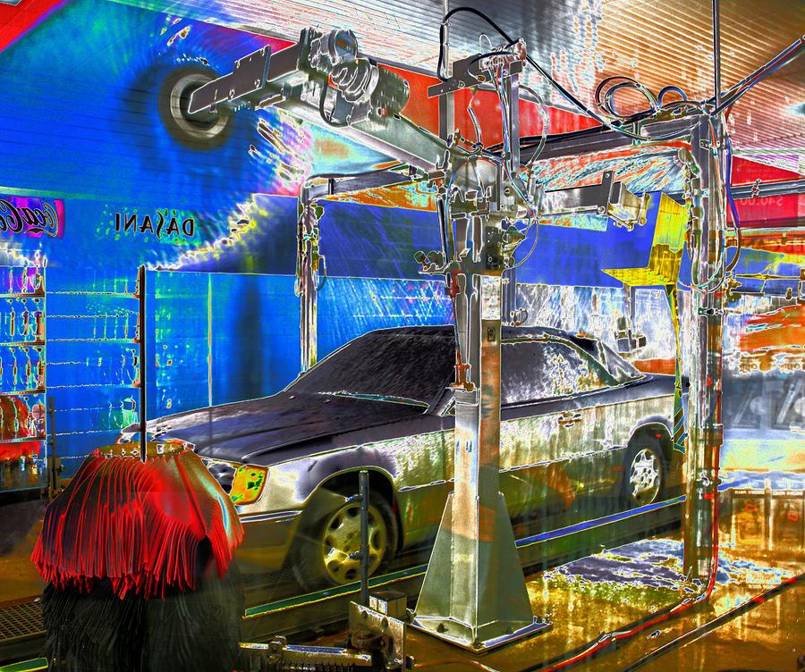 Car Wash Photograph By Guy Ciarcia